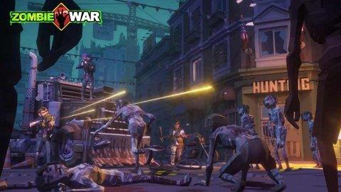 僵尸末日战争游戏