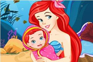 美人鱼生小宝宝